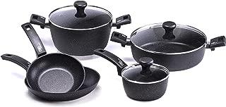 Moneta Etnea Artech Ultra Chef's Pots & Pans Set, 28cm, Black