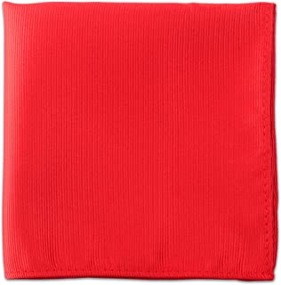 mens red pocket square