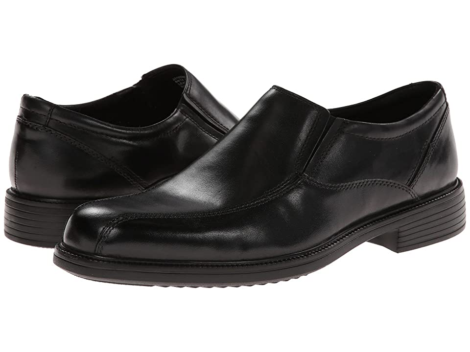 Bostonian Bardwell Step (Black Leather) Men