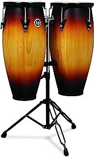 """آمریکای لاتین Percussion LP شهر Wood Congas 10 """"و 11"""" مجموعه - Vintage Sunburst"""