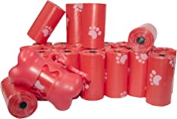 Best Pet Supplies, Inc. Scented Refill Rolls/Poop Bags with FREE Dispenser