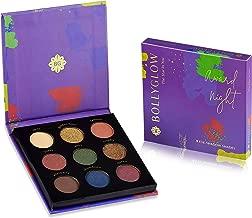 Bollyglow 9 Shade Eyeshadow Palette - Award Night, Multicolor, 5 g