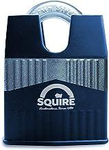 Henry Squire Warrior High-Security gesloten beugel 5-polige cilinderhangslot, 55 mm (lengte) x 34 mm ((breedte))