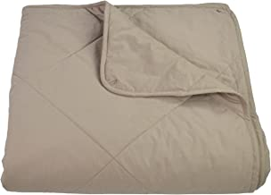 Empress Home Washable Silk Filled Comforter - Queen - Taupe