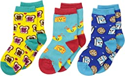 Socksmith - Best Foods Forever (Toddler/Little Kid/Big Kid)
