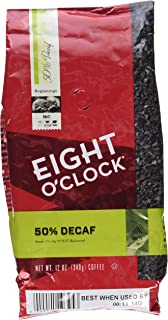 Eight O'Clock 50% Decaf Ground Coffee