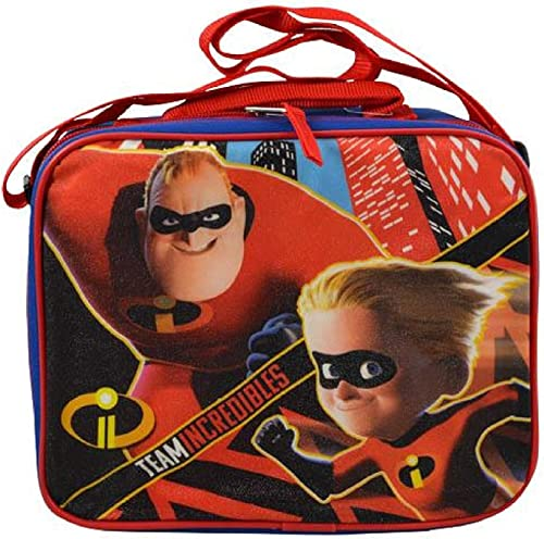 INCrotIBLES 2 chteck Lunch Tasche mit Schulterriemen