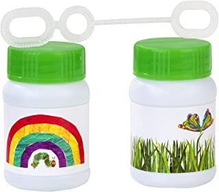 Talking Tables The Very Hungry Caterpillar Kids Birthday Bubble Pots with Wands (6 Pack), 3