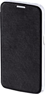 Hama Clear Booklet Case for Samsung Galaxy S6 - Black