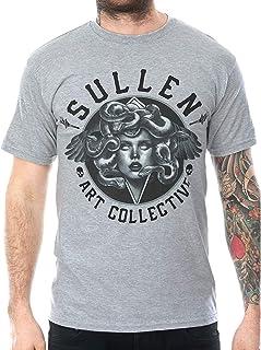 Sullen Men's Medusa Short Sleeve T Shirt Charcoal Heather Gray 2XL