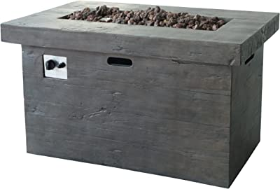 Amazon Com Belmont Home Luciano Weathered Brown Wood