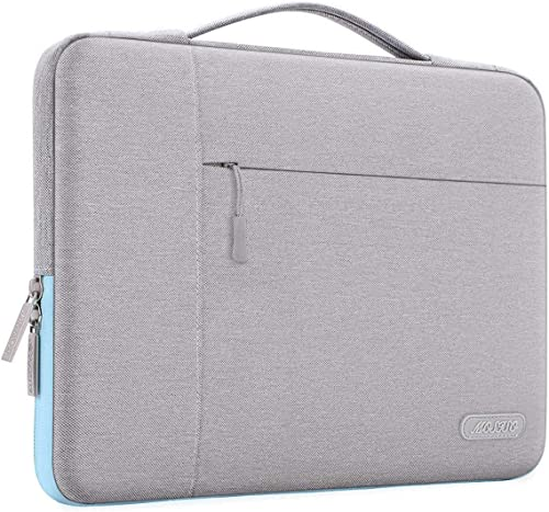MOSISO Laptop Sleeve Compatible with 13-13.3 inch MacBook Air, MacBook Pro, Notebook Computer, Polyester Multifunctio...