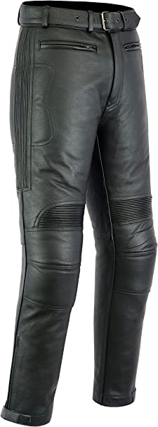 Texpeed Mens Leather Trousers
