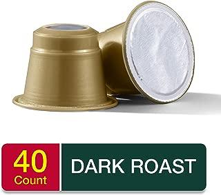 Medaglia D'Oro Italian Roast Espresso Capsules, 40Count