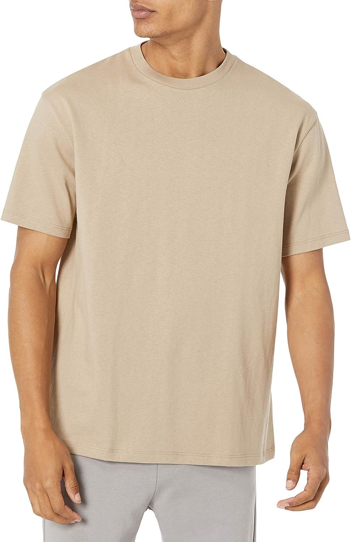 Lovert Mens's Oversize Heavy Jersey Organic Tshirt