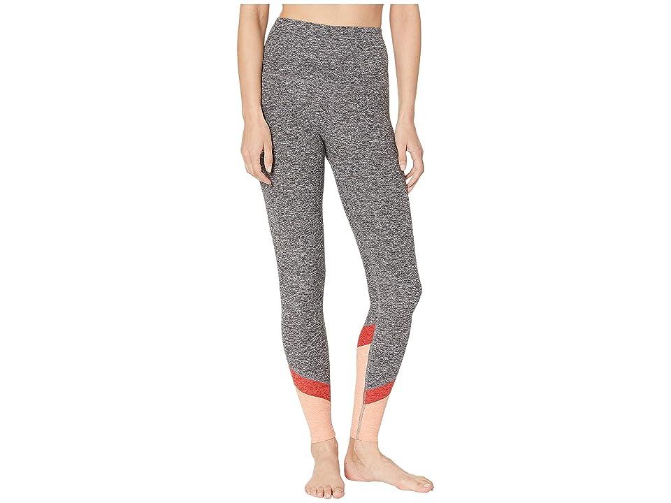 Beyond Yoga Spacedye Color in High-Waisted Long Leggings (Black/White Spacedye) Women