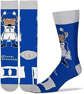 For Bare Feet - NCAA Men's Mascott Flag Dress Crew Socks