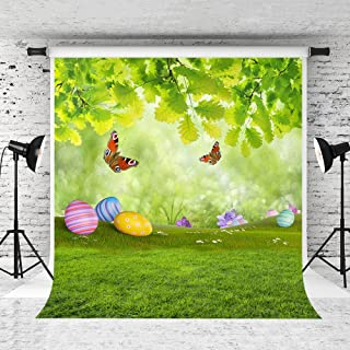 Kate 5x7ft Easter Photography Backdrop Spring Fresh Scenery Background Colorful Eggs Customized BackdropS for Children Studio Photo Studio Prop
