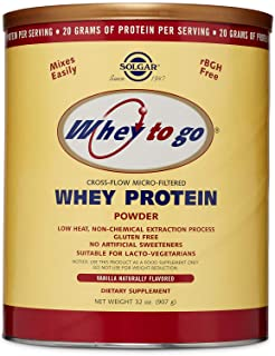 Solgar - Whey To Go - Whey Protein Powder
