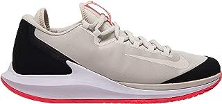 Nike Air Zoom Zero Men's Tennis Shoes Light Bone/Black/Hot Lava/Light Bone