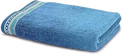Maspar Carnival Prime 550 GSM Cotton Towel - Blue