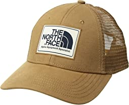 f7ac91cc7cbc4 The North Face. Mudder Novelty Mesh Trucker Hat. $34.95. Cargo  Khaki/Vintage White/Urban Navy