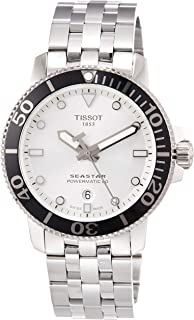 Seastar 1000 Automatic Silver Dial Mens Watch T120.407.11.031.00