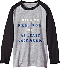 Lucky Brand Kids - Long Sleeve Graphic Tee (Little Kids/Big Kids)