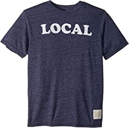 Local Short Sleeve Vintage Tri-Blend Tee (Big Kids)