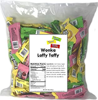 Laffy Taffy Assorted Flavors, 3.5 LB Bag Cherry , Green Apple , Banana bulk candy individually wrapped