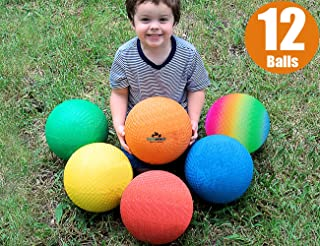 ToysOpoly Premium Playground Balls 8.5 inch, Best Kickball Dodgeball for Kids and Adults..