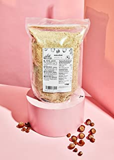 KoRo - Gemalen hazelnoten 1 kg - 100 % natuurlijk - Zonder toevoegingen - Veganistisch - Glutenvrij - Bron van vezels - Bu...