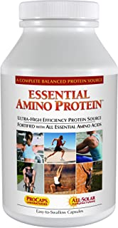 Andrew Lessman Essential Amino Protein 180 Capsules – Easy-to-Absorb, Small Peptides and Free-Form Amino Acids, Protein So...
