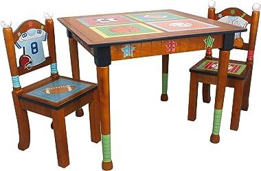 Fantasy Fields Kids Table, Brown - Little Sports Fan