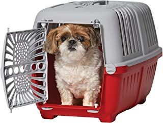 "MidWest Spree Travel Pet Carrier | Hard-Sided Pet Kennel Ideal for""XS"" Dog Breeds, Small Cats & Small Animals 