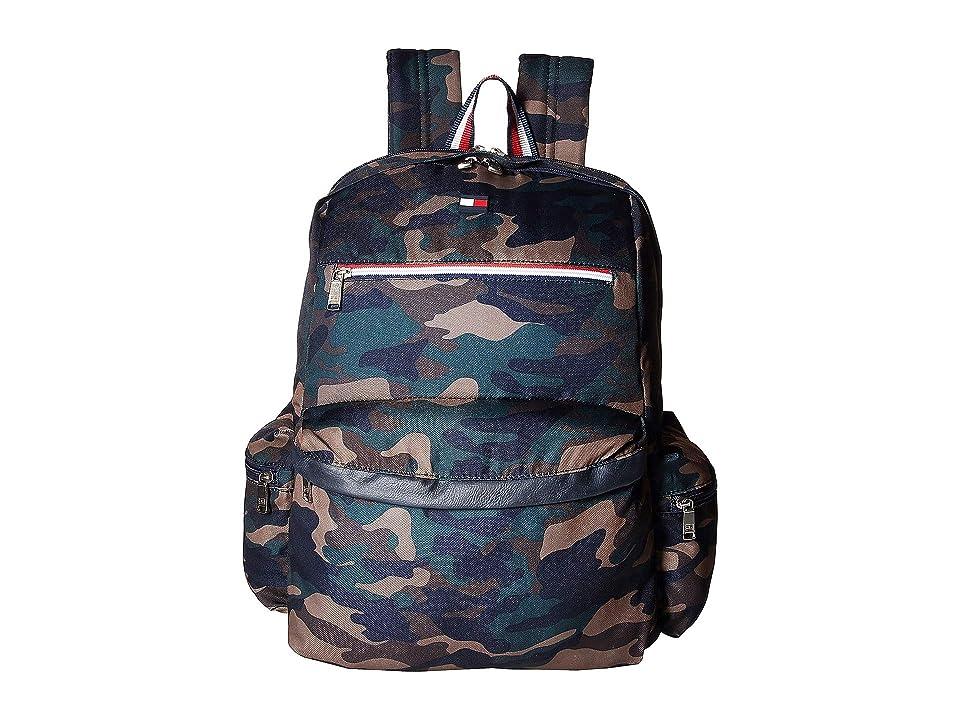 Tommy Hilfiger Safe Harbor Backpack (Camo) Backpack Bags