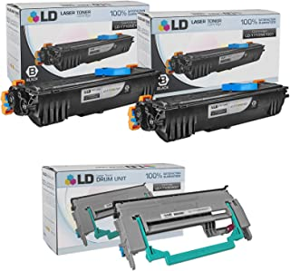 LD Compatible Toner Cartridge & Drum Unit Replacements for Konica Minolta PagePro 1300 Series (2 Toners, 1 Drum, 3-Pack)