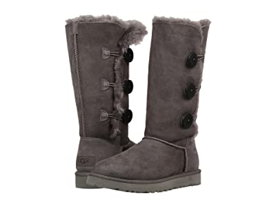 UGG Bailey Button Triplet II (Grey) Women