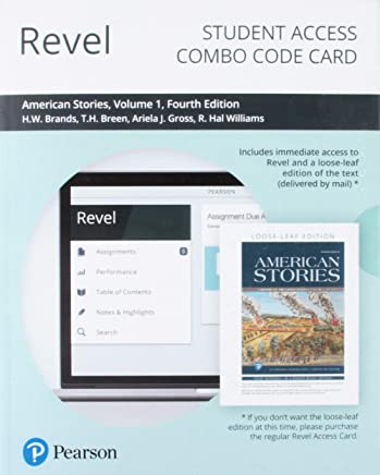 Revel for American Stories Access Card: A History of the United States