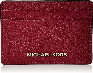 MICHAEL KORS Womens Card Holder, Berry - 34F9GF6D0L