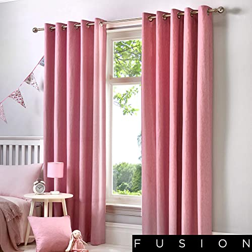 Pink Velvet Curtains Amazon Co Uk