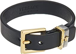 Versace Leather Cuff Bracelet