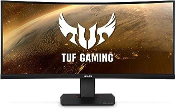 "Asus TUF Gaming VG35VQ 35"" Curved HDR Monitor 100Hz Uwqhd (3440 X 1440) 1ms FreeSync Eye Care DisplayPort HDMI USB HDR10"