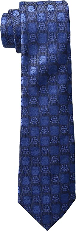 Darth Vader and Stormtrooper Blue Tie