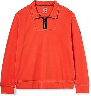 camel active Men's 4093174f1254 Sweatshirt, Orangepumpkin, X-Large