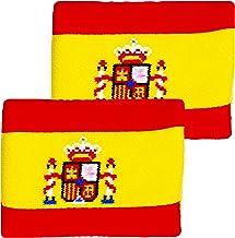أساور معصم بتصميم علم إسبانيا رياضي فريد مقاس 10.16 سم