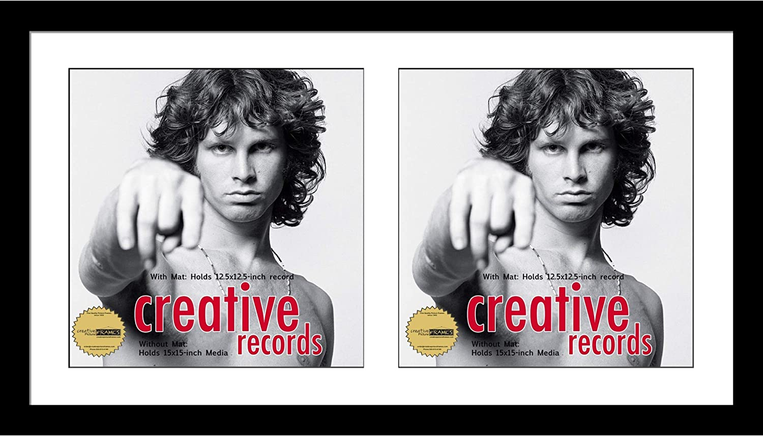 Creative Limited time sale Picture Frames 16x30-inch Double Record Fra High order Cover Album