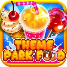 Theme Park Fair Food Maker – Make Dessert Foods, Amusement Parks Candy Pizza, FREE Toy Prizes, Play Carnival Games in Kids Bake & Cook Chef Game for Boys & Girls