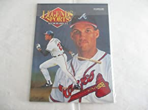 JULY/AUGUST 1992 LEGENDS SPORTS MEMORABILIA MAGAZINE FEATURING DAVID JUSTICE OF THE ATLANTA BRAVES