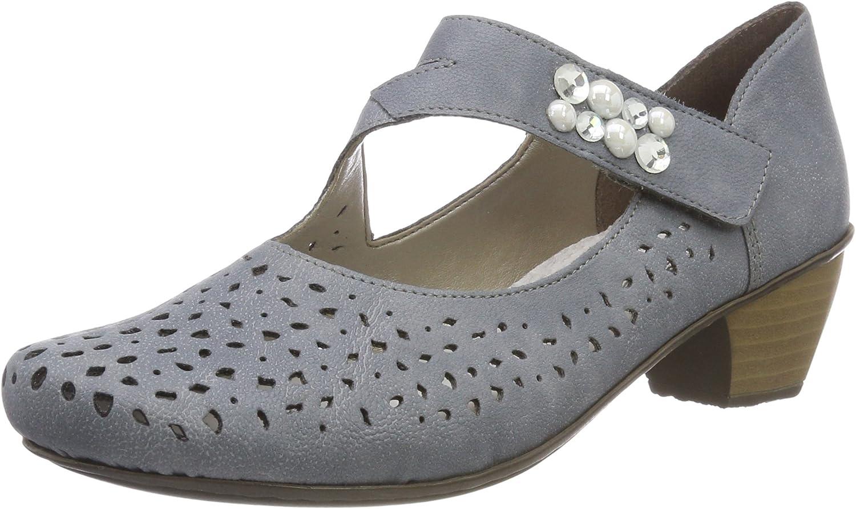 Rieker 41767-13 Adria (Grey) Womens shoes